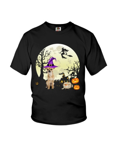 Funny chihuahua witch dog lover Halloween