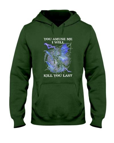 Dragon you amuse me I will kill you last dragon
