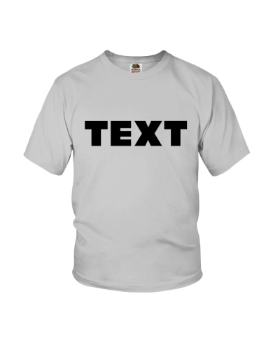 SIMPLE TEXT-BASED t-shirts