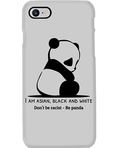 Don't be racist - Be panda t-shirt