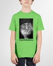 save the homeless 2 Youth T-Shirt garment-youth-tshirt-front-01