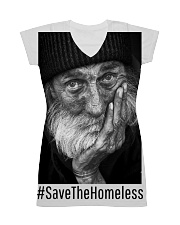 save the homeless 2 All-over Dress thumbnail