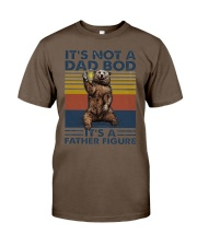 its not a dad bod its a father figure t shirt Classic T-Shirt tile