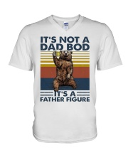 its not a dad bod its a father figure t shirt V-Neck T-Shirt thumbnail