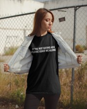 if you not eating ass please leave me alone shirt Classic T-Shirt apparel-classic-tshirt-lifestyle-07