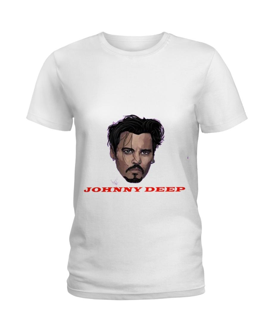 johnny deep Ladies T-Shirt