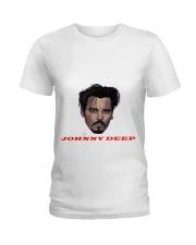 johnny deep Ladies T-Shirt front