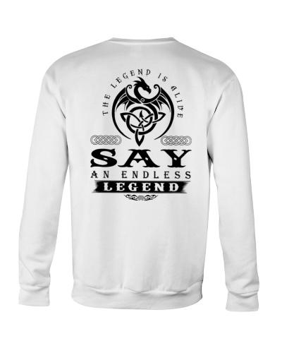 S-A-Y bd back
