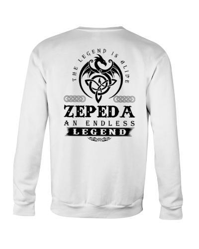 Z-E-P-E-D-A bd back