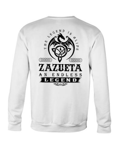 Z-A-Z-U-E-T-A bd back