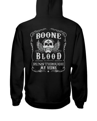 BOONE bw back