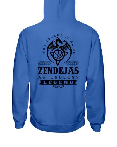 Z-E-N-D-E-J-A-S bd back