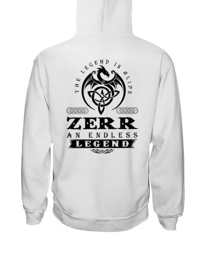 Z-E-R-R bd back