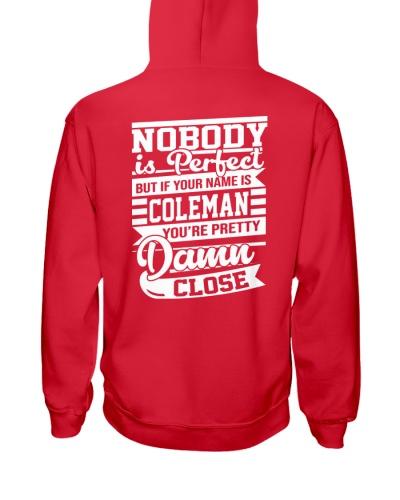 COLEMAN n1 back