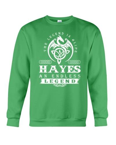 H-A-Y-E-S d1 front