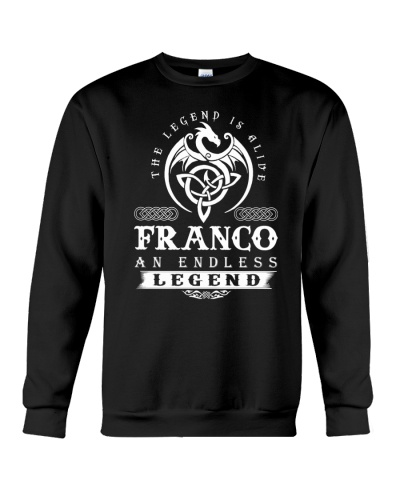 F-R-A-N-C-O d1 front