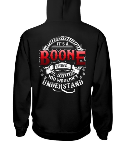 BOONE t1 back