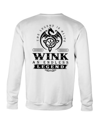 W-I-N-K bd back