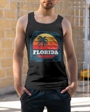 FLORIDA Miami Beach  Unisex Tank apparel-tshirt-unisex-sleeveless-lifestyle-front-01