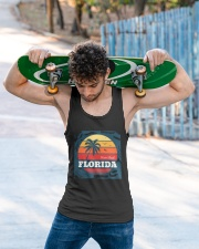 FLORIDA Miami Beach  Unisex Tank apparel-tshirt-unisex-sleeveless-lifestyle-front-02
