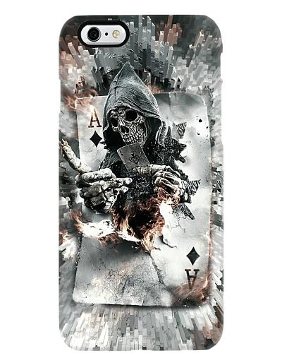 Poker Death Card Phone Case