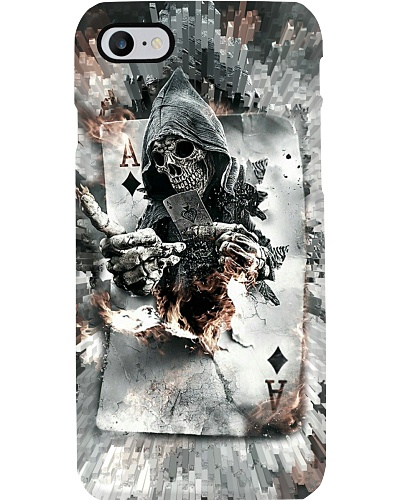 Poker Death Card Phone Case