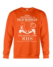 Rudyard High School Crewneck Sweatshirt front