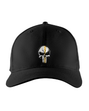 Thin Yellow Line Skull T-shirt Embroidered Hat thumbnail