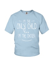 only child Youth T-Shirt front