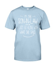 son in law Classic T-Shirt front
