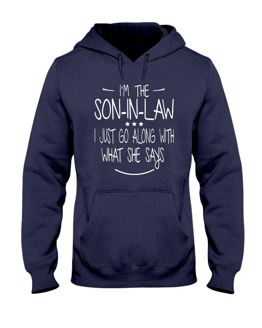 son in law Hooded Sweatshirt