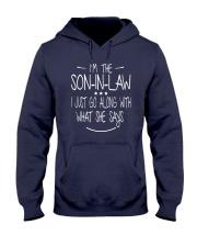 son in law Hooded Sweatshirt front