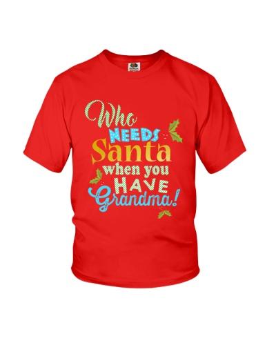 Who need santa when you have Grandma