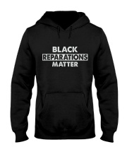 Black Reparations Matter Hooded Sweatshirt thumbnail