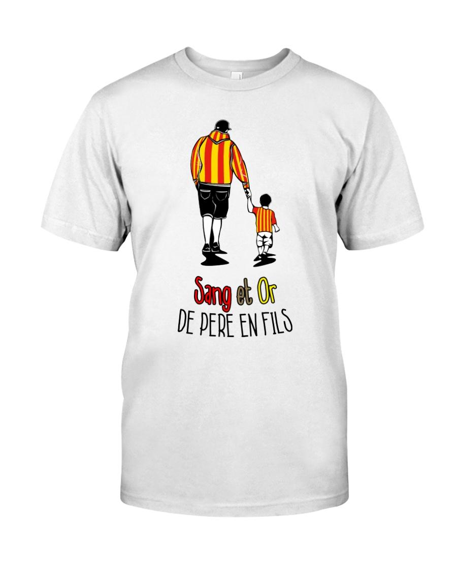 Sang et Or de pere en fils Classic T-Shirt