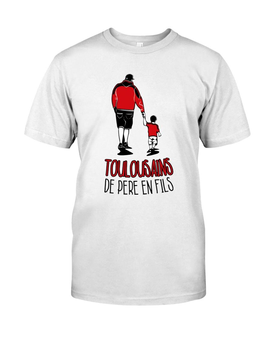 Toulousains de pere en fils Classic T-Shirt