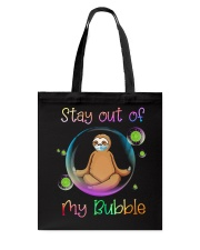 STAY OUT OF MY BUBBLE Tote Bag thumbnail