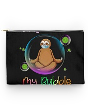 STAY OUT OF MY BUBBLE Accessory Pouch - Large thumbnail