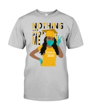 Women-Class-of-2020-Nothing-can-stop-me-yellow Classic T-Shirt front