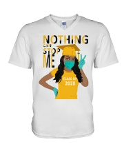 Women-Class-of-2020-Nothing-can-stop-me-yellow V-Neck T-Shirt thumbnail