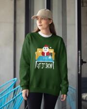 Cute Christmas Crewneck Sweatshirt apparel-crewneck-sweatshirt-lifestyle-front-12
