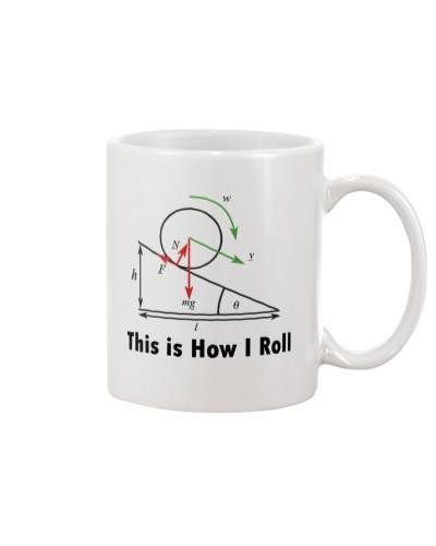 How I Roll Mug