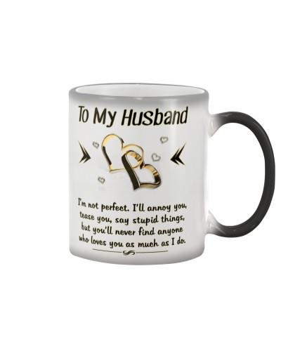 To My husband - I Love You