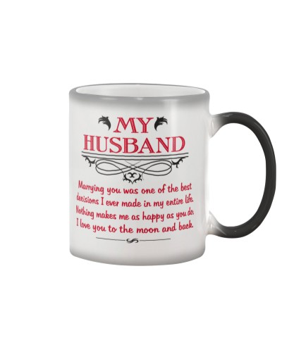 My Husband - I Love You To The Moon and Back