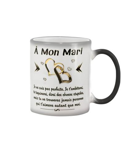 MON MARI - JE T'AIMERAI TOUJOURS