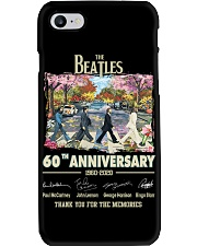 the beatles 60TH ANNIVERSAR Phone Case tile
