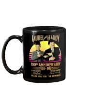 LAUREL AND HARDY TSHIRT Mug back