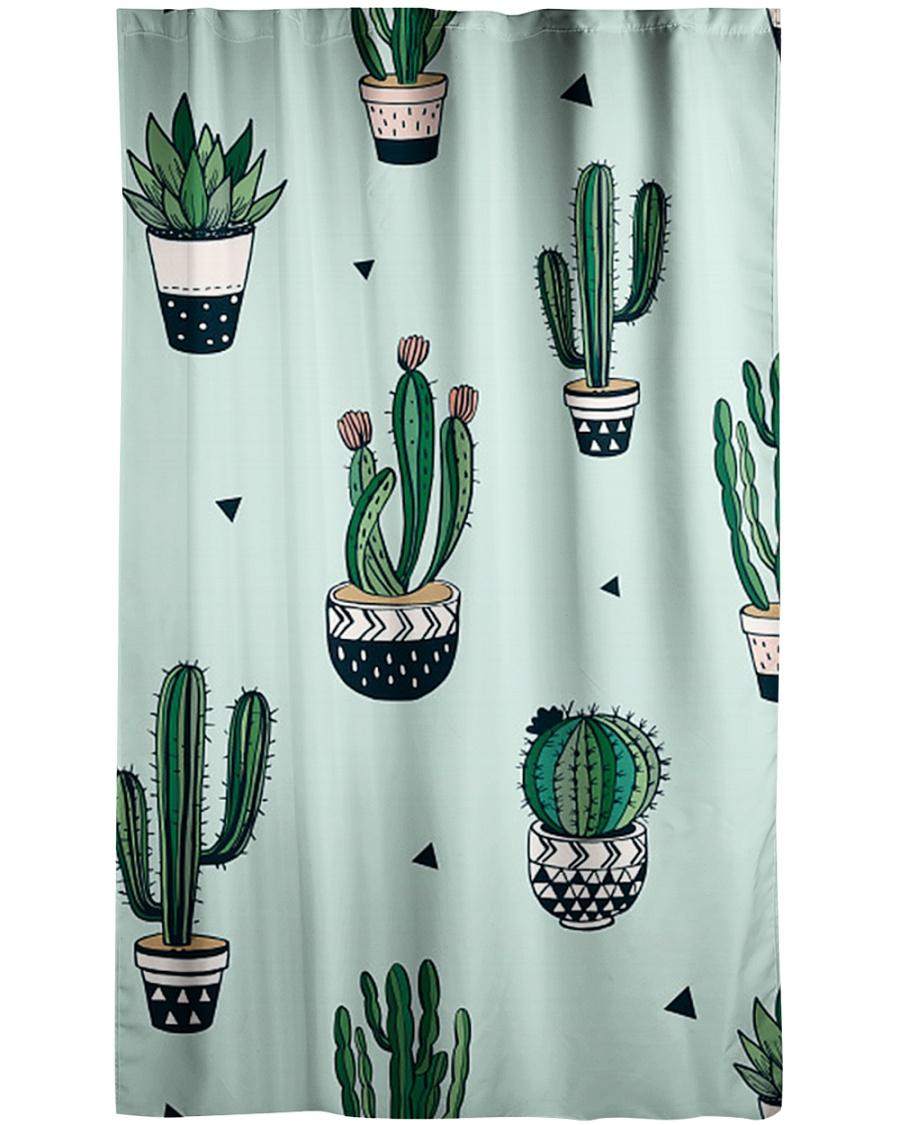 Cactus  Window Curtain - Sheer