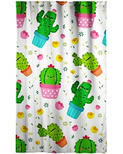 Cactus Window Curtain - Sheer front