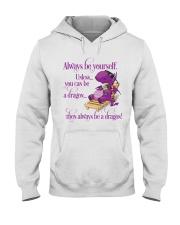 Always Be A Dragon Hooded Sweatshirt thumbnail